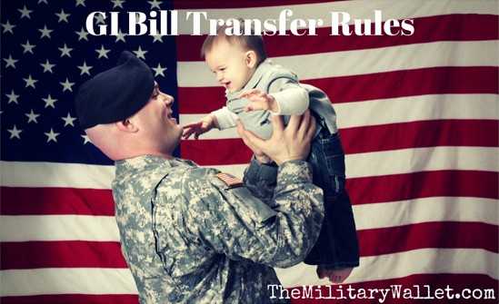 GI Bill Transfer Rules