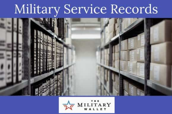 Military Service Records - how to get copies