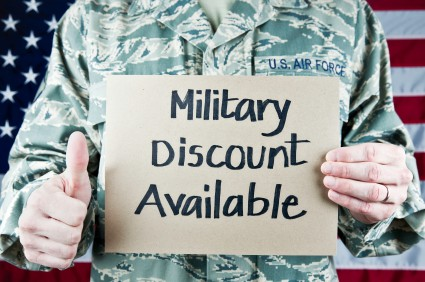How to get a Military Discount