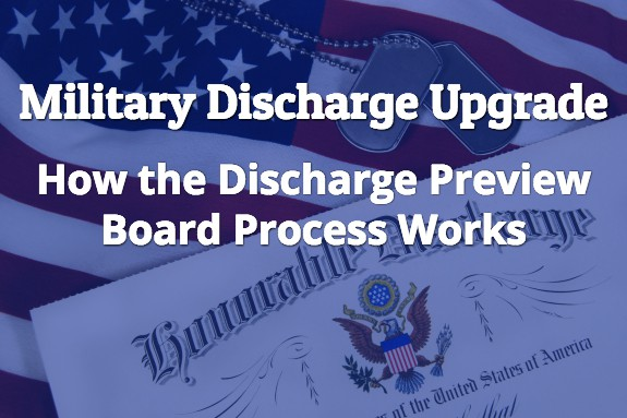 Military Discharge Upgrade