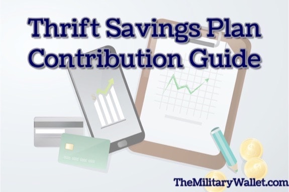 Thrift Savings Plan Contribution Guide