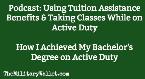 Military Tuition Assistance Benefits