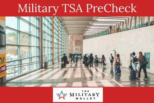 Military TSA PreCheck