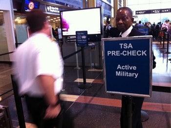 TSA PreCheck for Military Members