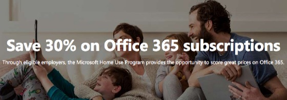 Microsoft Home Use Program Military Discount