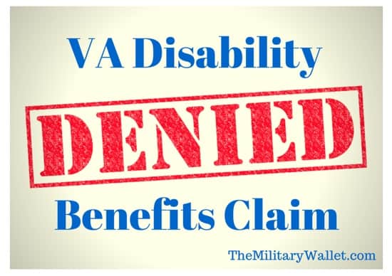 The VA Denied My Disability Claim  Now What?