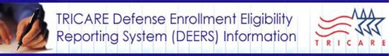 DEERS - Defense Enrollment Eligibility Registration System