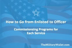 Enlisted to Officer - How to Get a Commission in the Armed Forces