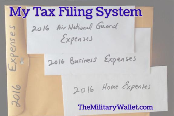 Tax Filing System