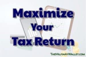 Maximize Your Tax Return