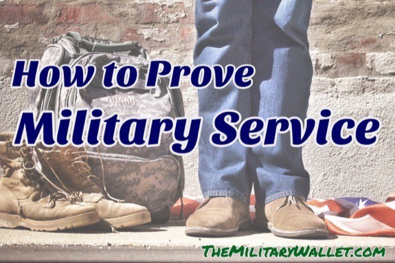 How To Prove Military Service Documents Forms And Proof Of Service