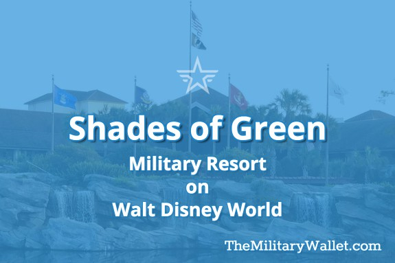 Shades of Green Military Resort at Walt Disney World, Orlando FL