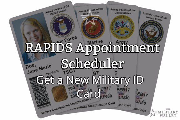RAPIDS Appointment Scheduler - New Military ID Card Appointment