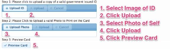VA ID Card Image Upload