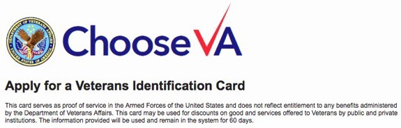 Veteran ID Card Application