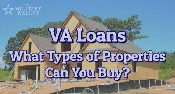 Va loans eligible types of property and loan purposes for What type of loan to buy land