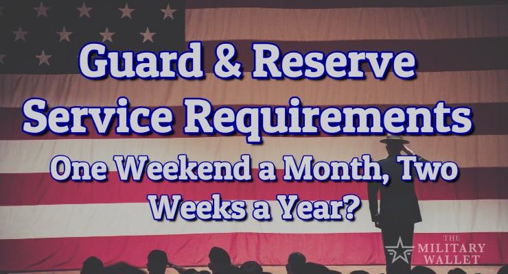 Guard & Reserve Service Requirements