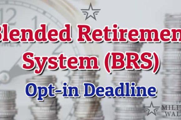 Blended Retirement System Opt-in Deadline