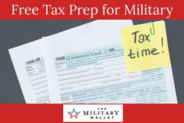 Free Tax Return Preparation for Military