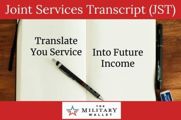 Joint Service Transcript (JST)