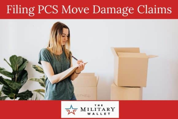 Filing PCS Move Damage Claims