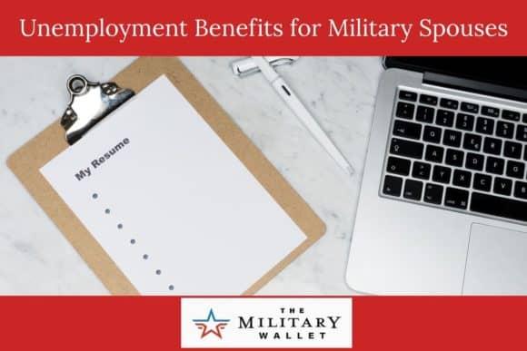 Unemployment Benefits for Military Spouses Due to PCS