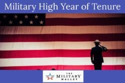 Military High Year of Tenure